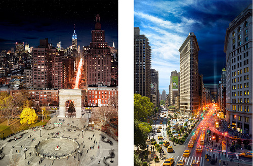 05-Stephen-Wilkes-day-to-night-fine-art-photography-Washington-Square-Park-NYC-&- The-Flatiron-NYC