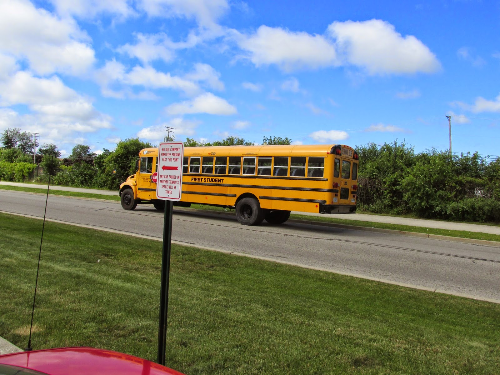 School Bus Fan : Eddie s rail fan page a first student international