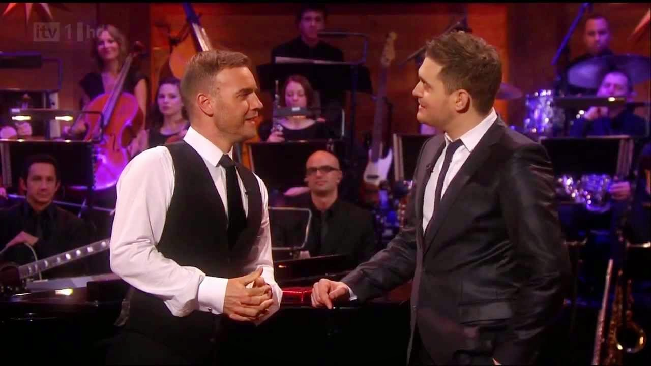 gary barlow y michael buble, buble barlow, christmas with buble