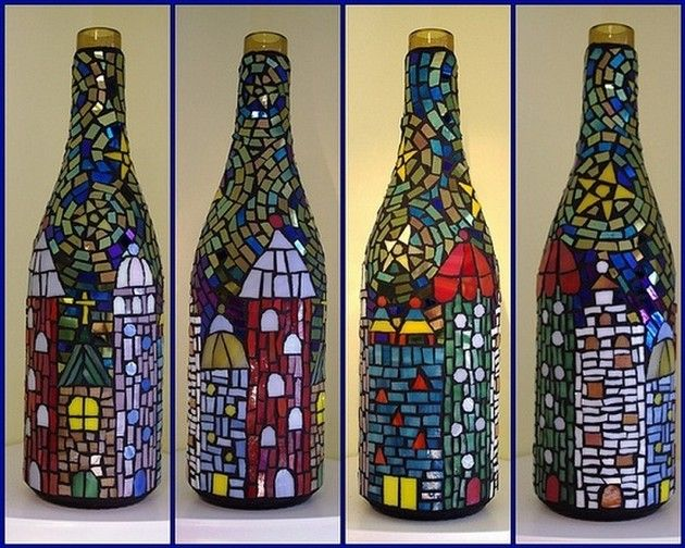 Glass Bottle Craft Ideas Art Craft Gift Ideas