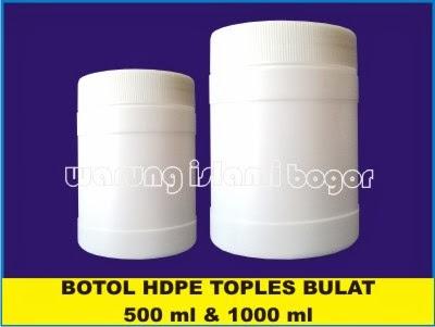Jual Pot Jar Kemasan Lulur Kosmetik HDPE 500ml