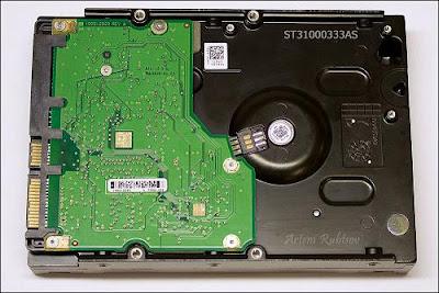 жесткий диск: интегральная схема