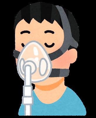 CPAPマスクのイラスト