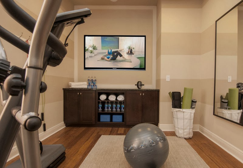 Loveyourroom spare room ideas discussed on news tomorrow for Best home gym design ideas