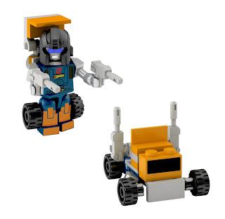 Hasbro Transformers Kre-O Micro Changers Series 2 - Huffer