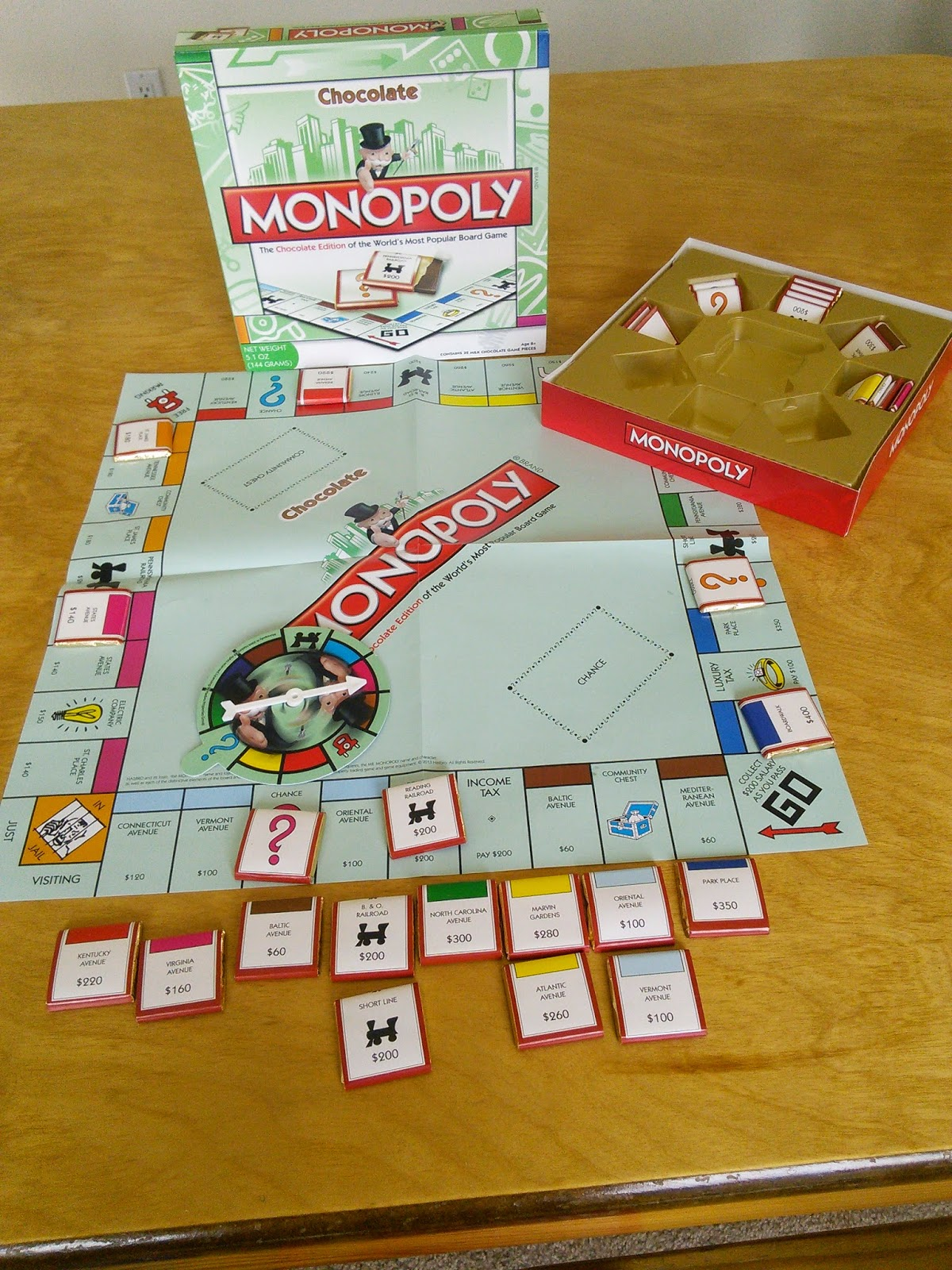 Mom Knows Best : A Chocolate Edition Of Monopoly Makes Game Night ...