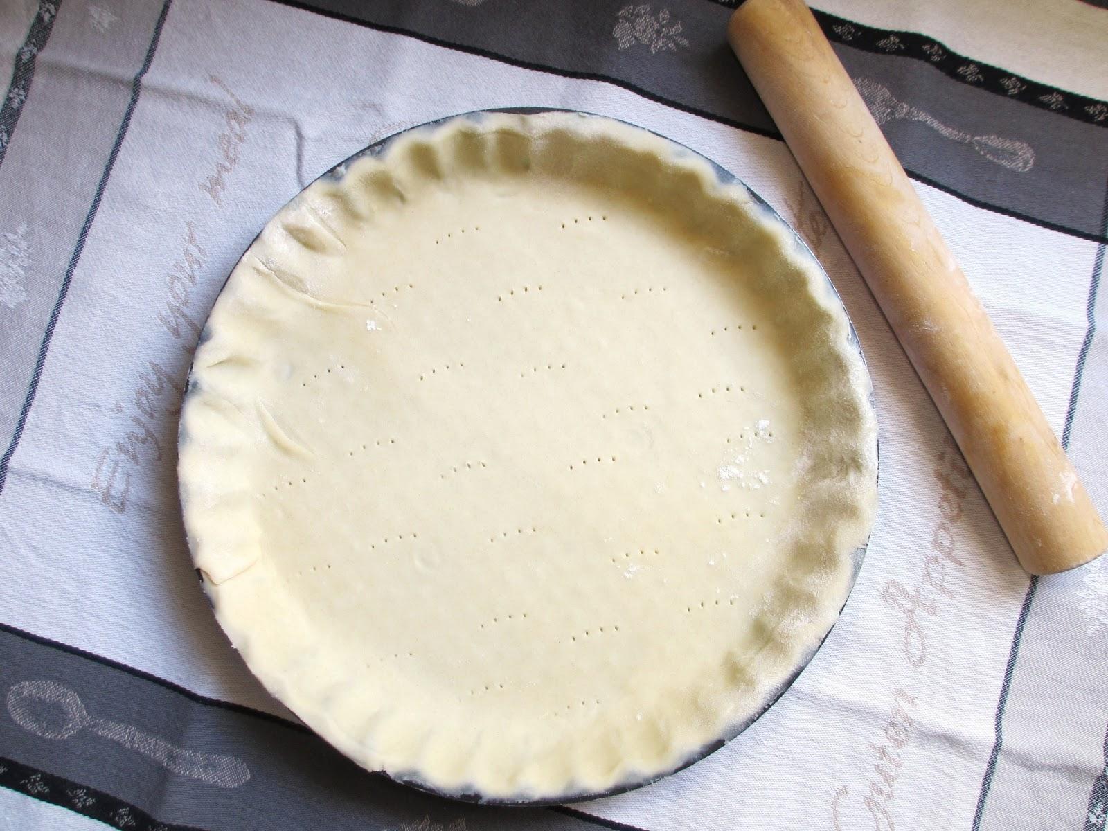 cooking pate brisee salee ou sucree