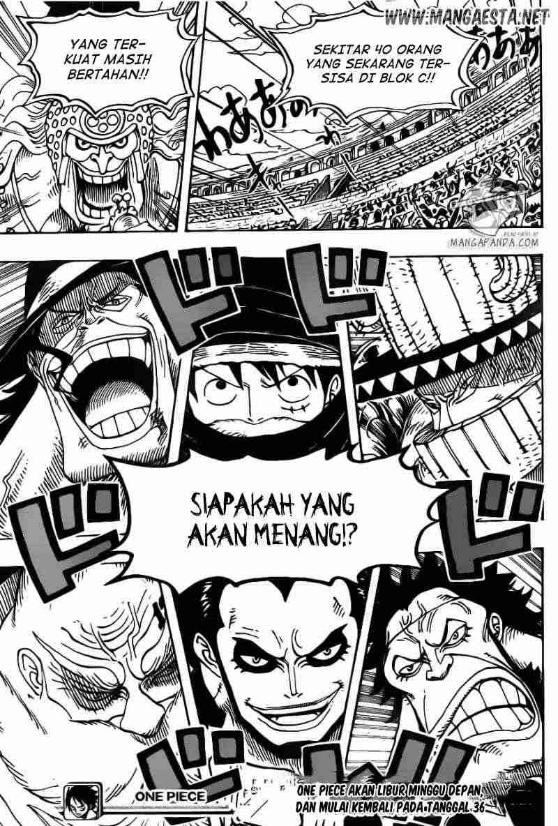 Dilarang COPAS - situs resmi www.mangacanblog.com - Komik one piece 715 - pertarungan sengit di blok c 716 Indonesia one piece 715 - pertarungan sengit di blok c Terbaru 17|Baca Manga Komik Indonesia|Mangacan