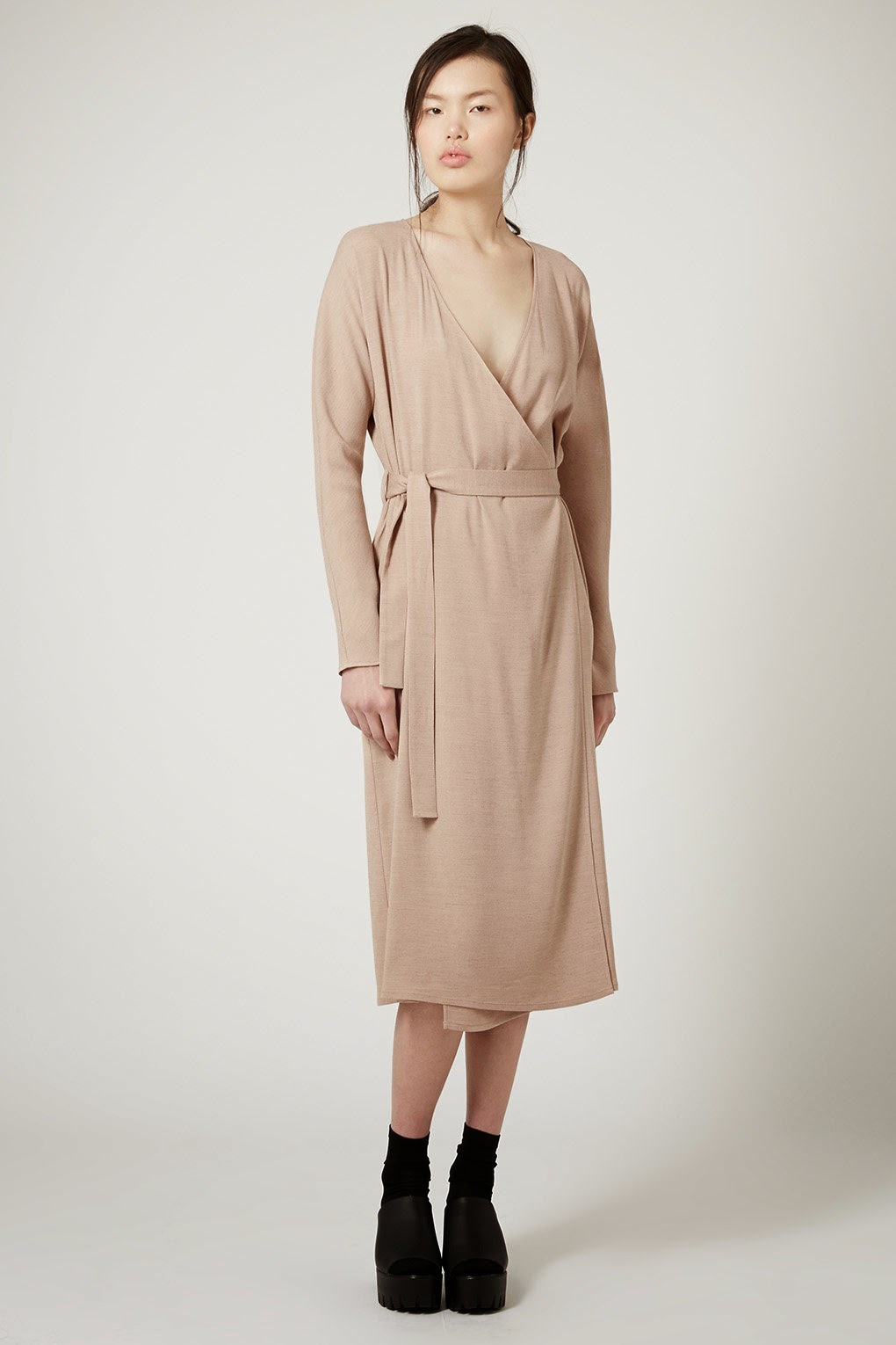 topshop wrap dress, topshop tie waist dress,