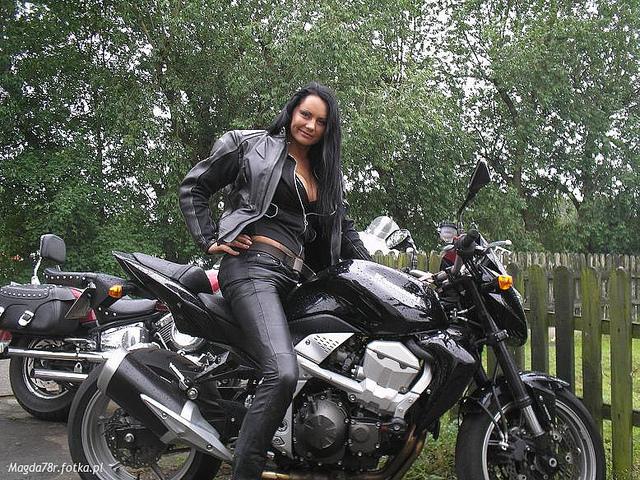 hot biker babes topless