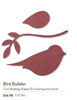 Shape of Stampin'UP!'s Bird Builder Punch
