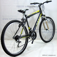4 Sepeda Gunung Genio Soul Beat 18 Speed 26 Inci