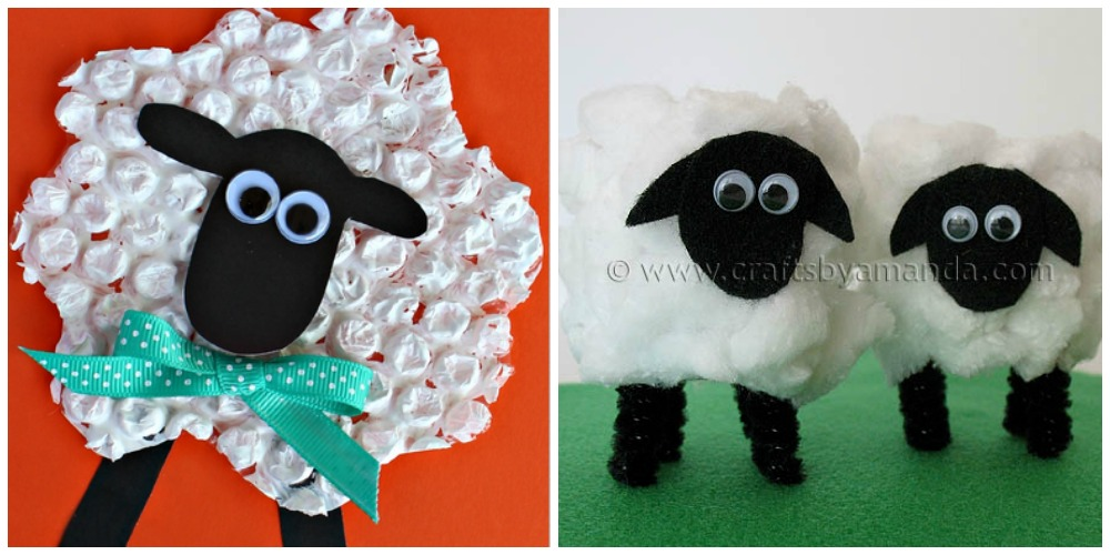 heart crafty things 10 sheep crafts for kids