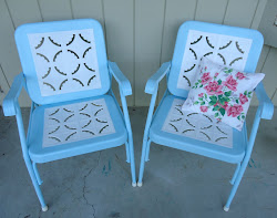 Old Vintage Lawn chairs!!!!!!!