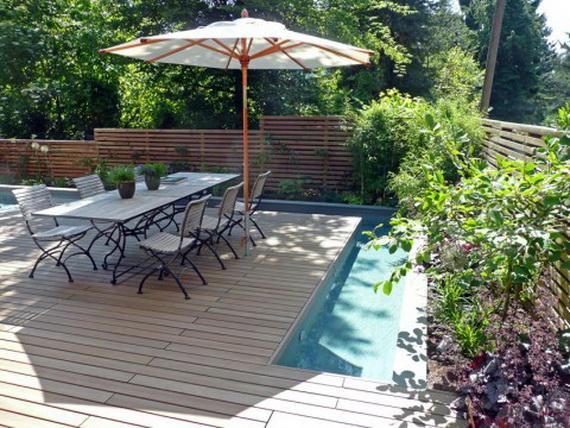 Blog de Muebles Jardn Diseo de piscina minimalista para casas con