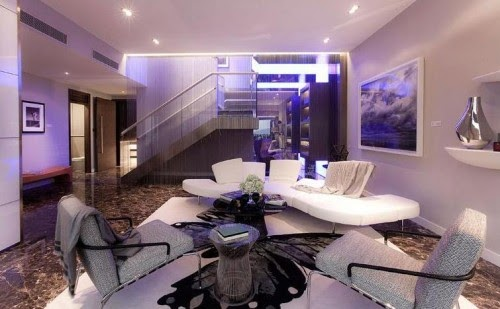 Home design minimalist aesthetic modern interior duplex - Duplex home interior design ...