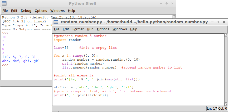 how to join list python