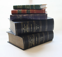 Rebound books in leather