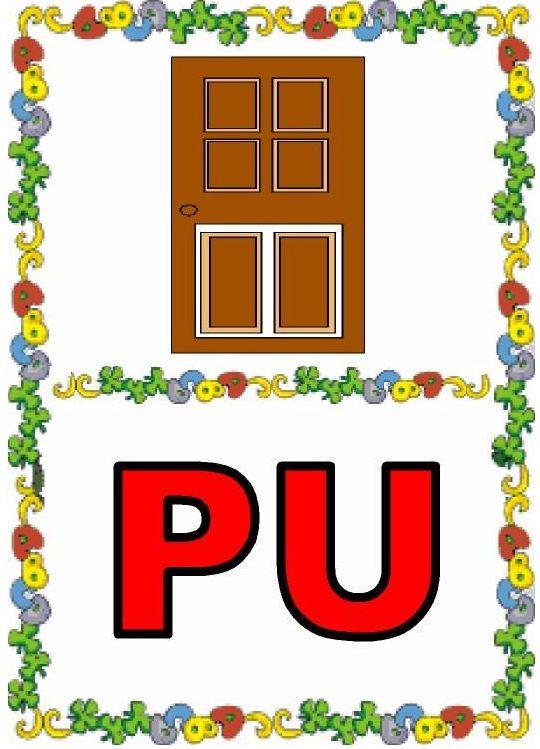 DEBAJO DEL ARCO IRIS: PA, PE, PI, PO, PU