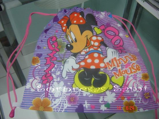 Mochilas de Mickey y Minnie - SORPRESITA SAMI