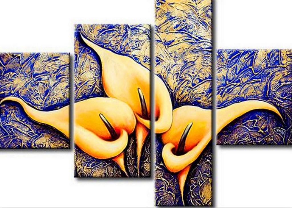 Pinturas Cuadros: Imágenes de Flores Sencillas