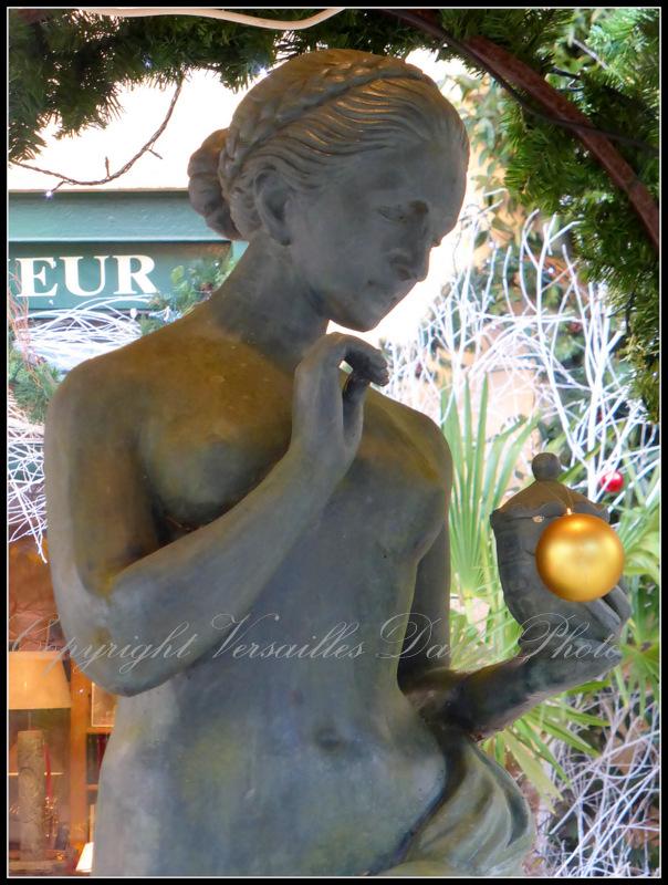 Christmas la geôle Versailles antiques