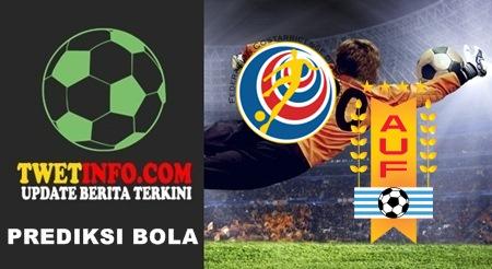Prediksi Kosta Rika vs Uruguay, Uji Coba 09-09-2015