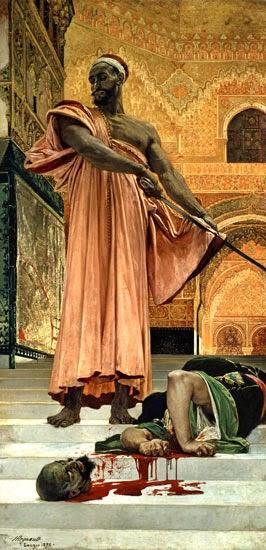 Henri Regnault Granada ejecución