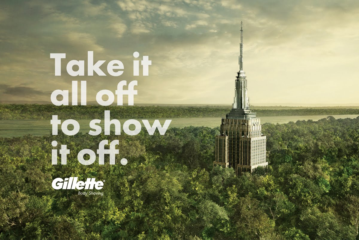 Empire State - Gillette - Monuments - BBDO México