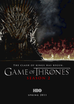 Serie Poster Game of Thrones S02E03 HDTV XviD & RMVB Legendado