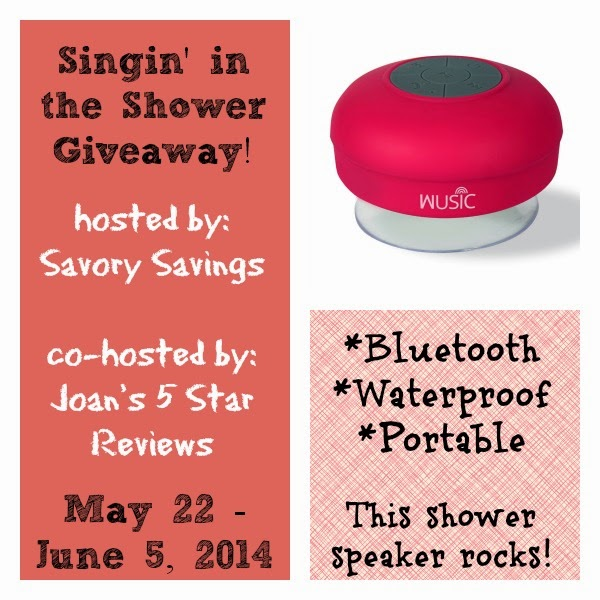 Singin' in the Shower Giveaway