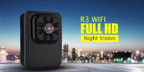 Camera Wifi Siêu Nhỏ Hành Trình R3 có vỏ chống nước sâu 30m
