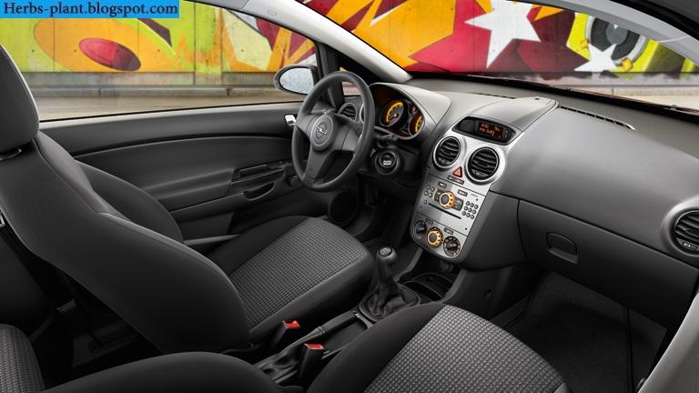 Opel corsa car 2013 interior - صور سيارة اوبل كورسا 2013 من الداخل