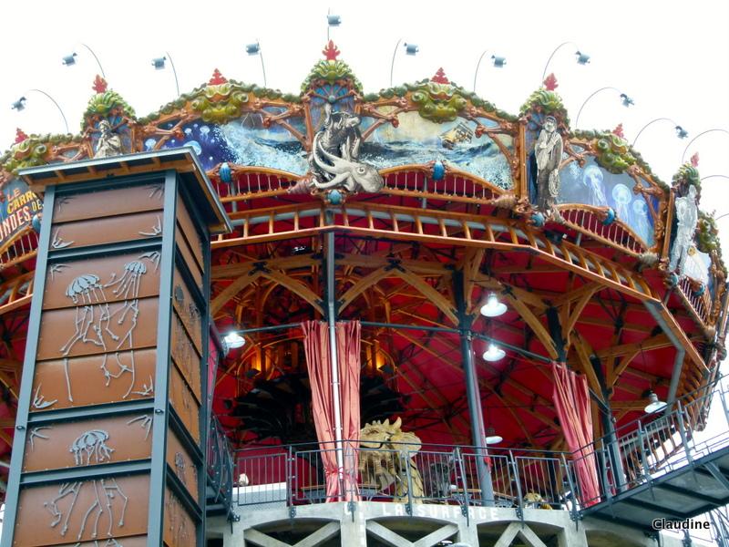 Le retour chez canelle le carrousel des mondes marins - Le carrousel des mondes marins ...