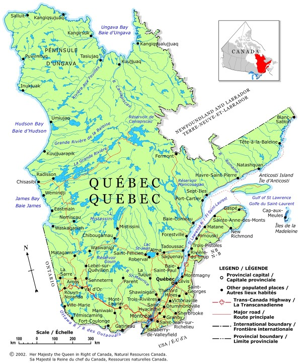 Map of Canada Regional City in the Wolrd Quebec Map Regional – Regional Map of Canada