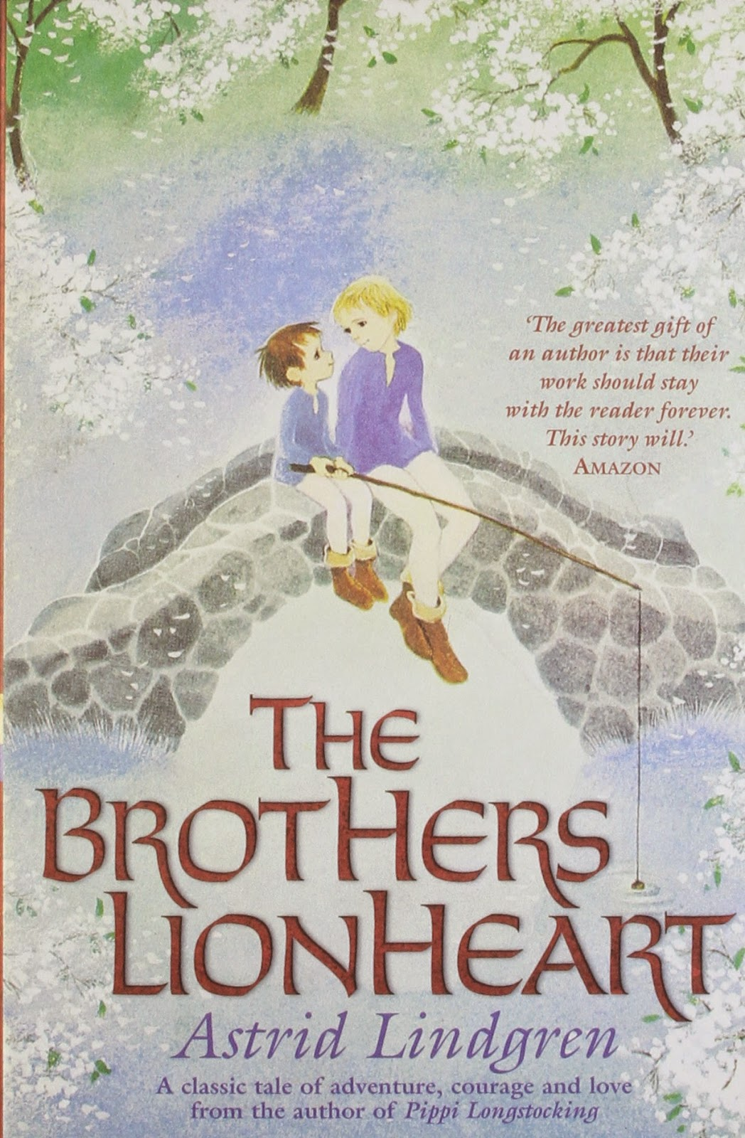 cover of the paperback book The Brothers Lionheart