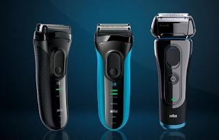Prueba la afeitadora Braun 3 y 5