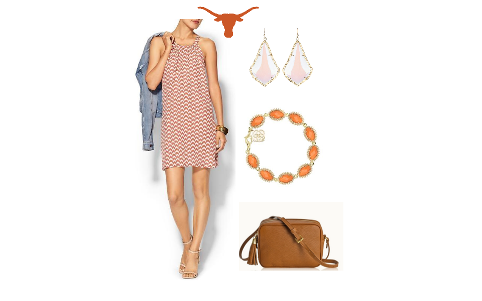 Texas Football Gameday Outfit, Gameday Dresses, Texas football