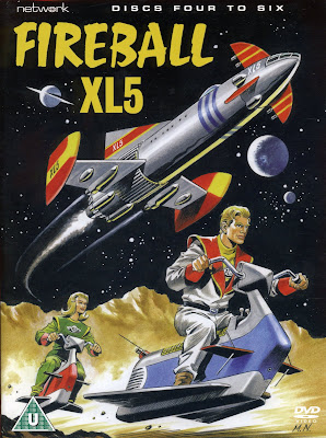Fireball XL5 - a space Cadillac with missiles!