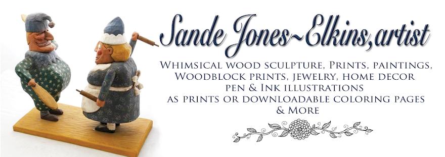 Ginny Pearl: The Art of Sande Jones-Elkins
