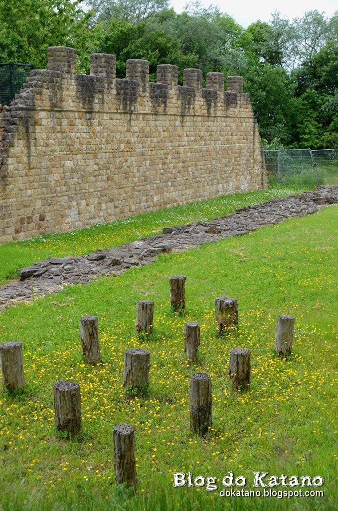 Blog do katano no trilho da muralha de adriano dia 1 for A muralha de adriano