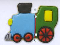 Wilton Train Cookie