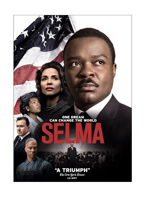 dvd cover for Selma.