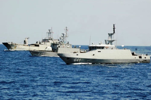 Armada kapal perang TNI
