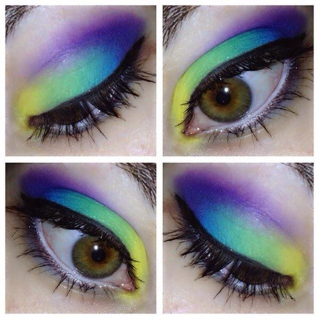 ♥ Rainbow Makeup ♥