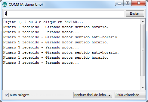 A4988 - Serial Monitor