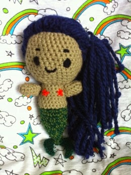 2000 Free Amigurumi Patterns: Crochet Mermaid Pattern