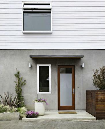 Narrow lot prefab house santa monica ca modern prefab for Narrow lot modular homes