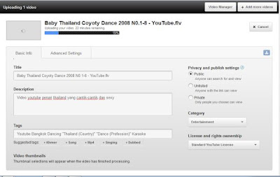 cara upload video ke youtube