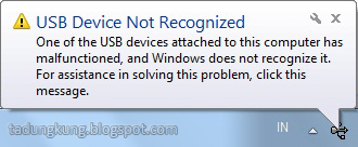 tips, cara, memperbaiki, flasdisk, not recognized, usb, device, windows